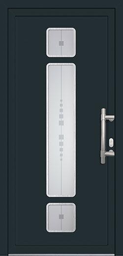 alu pvc vhodna vrata